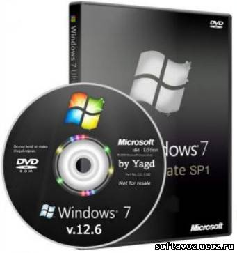 Windows 7 Ultimate StopSMS Optimized by Yagd AIO v.12.6 x64
